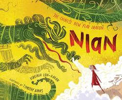 Nian, the Chinese New Year Dragon book