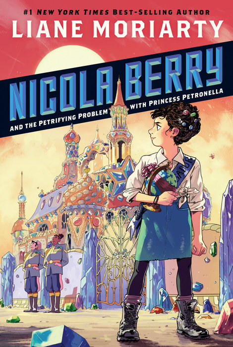 Nicola Berry and the Petrifying Problem with Princess Petronella book