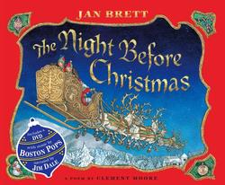 Night Before Christmas [With DVD] book