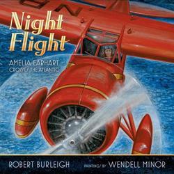 Night Flight: Amelia Earhart Crosses the Atlantic book