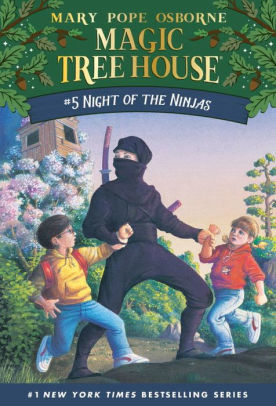 Night of the Ninjas book