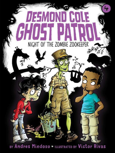 Night of the Zombie Zookeeper book