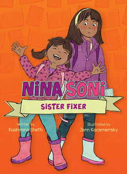 Nina Soni, Sister Fixer book
