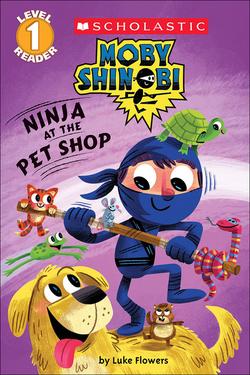 Ninja at the Pet Shop book