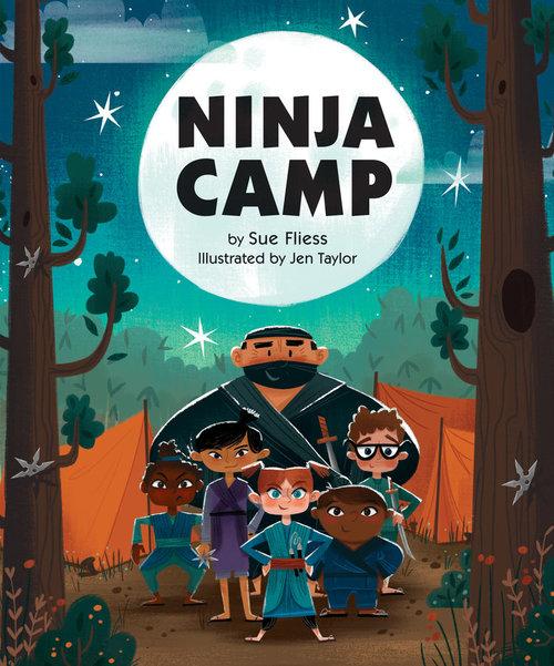 Ninja Camp book