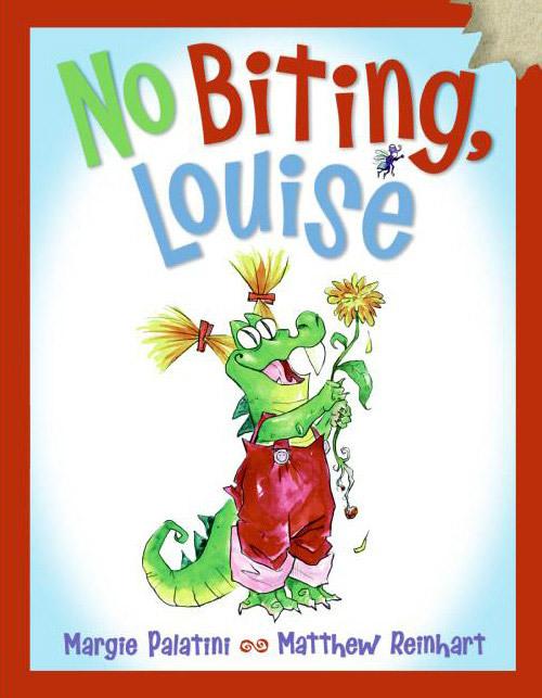 No Biting Louise book