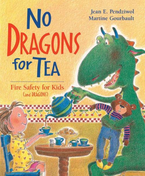 No Dragons for Tea book