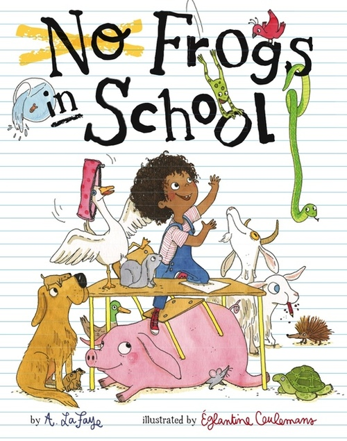 No Frogs in School Book
