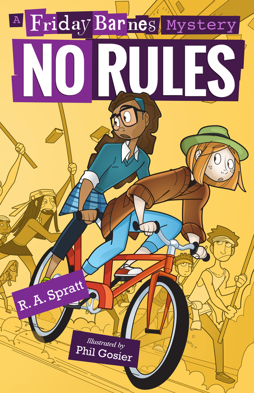 No Rules: A Friday Barnes Mystery book