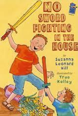 No Sword Fighting in the House book