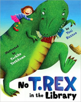 No T. Rex in the Library book