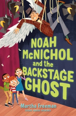 Noah McNichol and the Backstage Ghost book