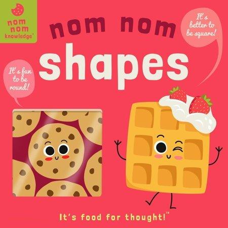 Nom Nom: Shapes book