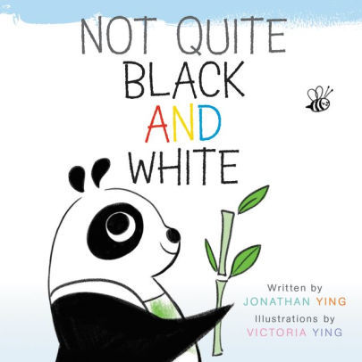 Not Quite Black and White Board Book book