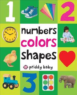 Numbers Colors Shapes book