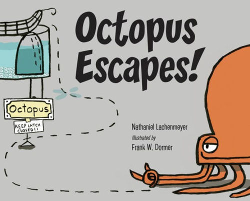 Octopus Escapes! book