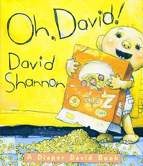 Oh, David! A Diaper David Book book