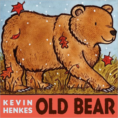Old Bear Board Book Book