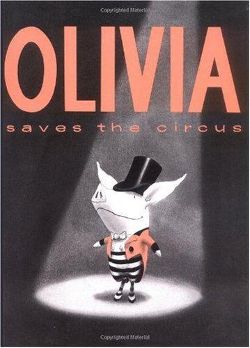 Olivia Saves the Circus book