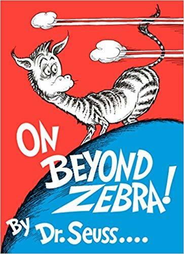 On Beyond Zebra! book