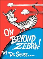 On Beyond Zebra! book