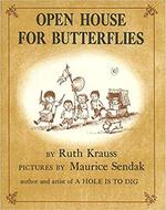 Open House for Butterflies book