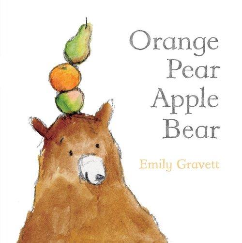 Orange Pear Apple Bear book