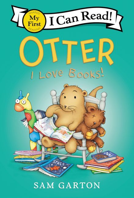 Otter: I Love Books! book