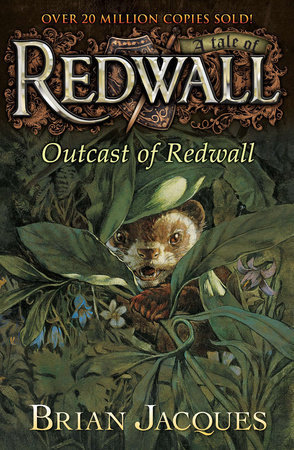 Outcast of Redwall book