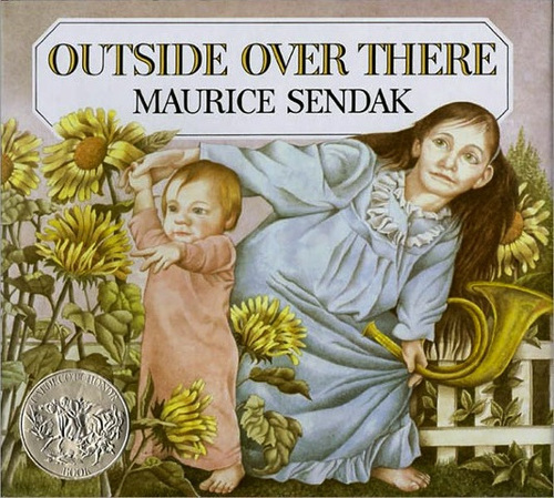 Outside Over There book