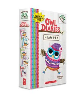 Owl Diaries, Books 1-5: A Branches Box Set book