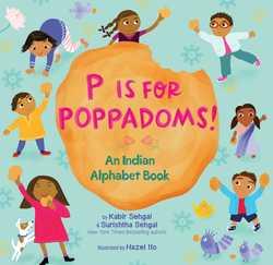 P Is for Poppadoms! book