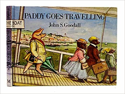 Paddy Goes Travelling book