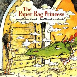 Paper Bag Princess book