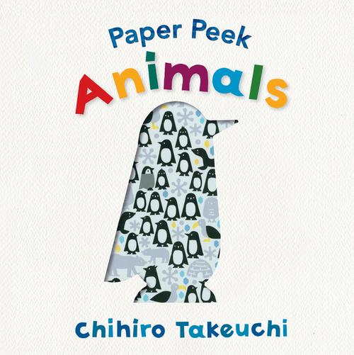 Paper Peek: Animals book