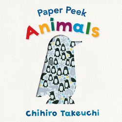 Paper Peek: Animals book