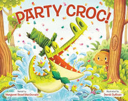 Party Croc! Book