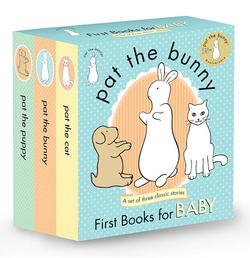 Pat the Bunny: First Books for Baby (Pat the Bunny): Pat the Bunny; Pat the Puppy; Pat the Cat book