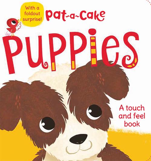 Pat-a-Cake: Puppies book