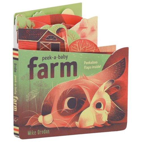 Peek-a-Baby: Farm book