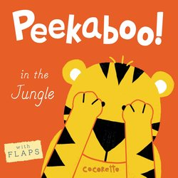 Peekaboo! in the Jungle! book
