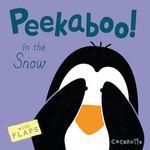 Peekaboo! In the Snow! book