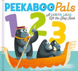 Peekaboo Pals: 123 book