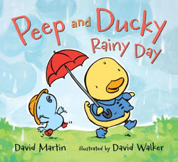 Peep and Ducky Rainy Day book