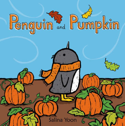 Penguin and Pumpkin book