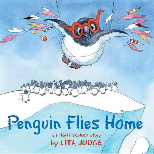 Penguin Flies Home book