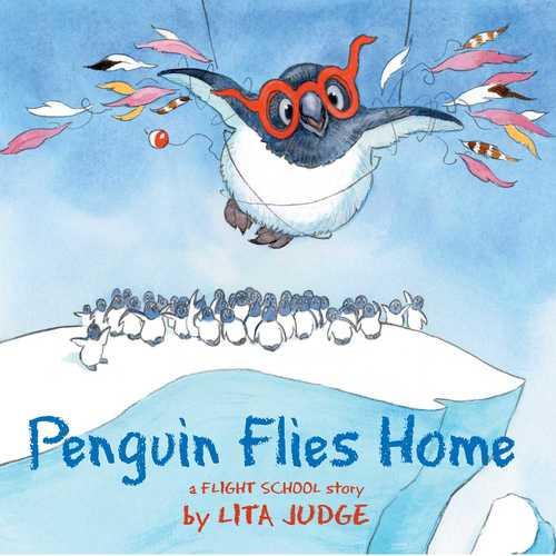 Penguin Flies Home book