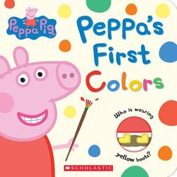 Peppa's First Colors book