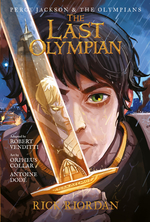 Percy Jackson and the Olympians the Last Olympian: The Graphic Novel book