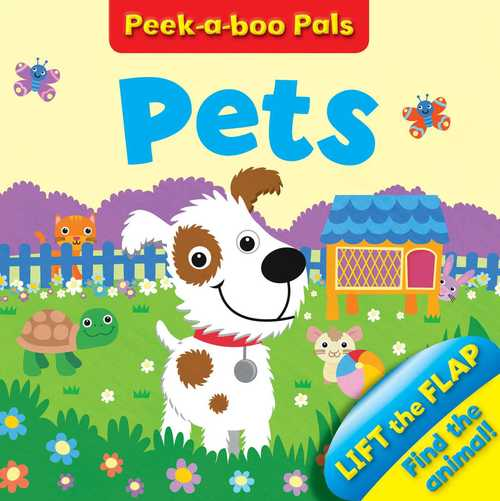 Pet Peekaboo Who? book